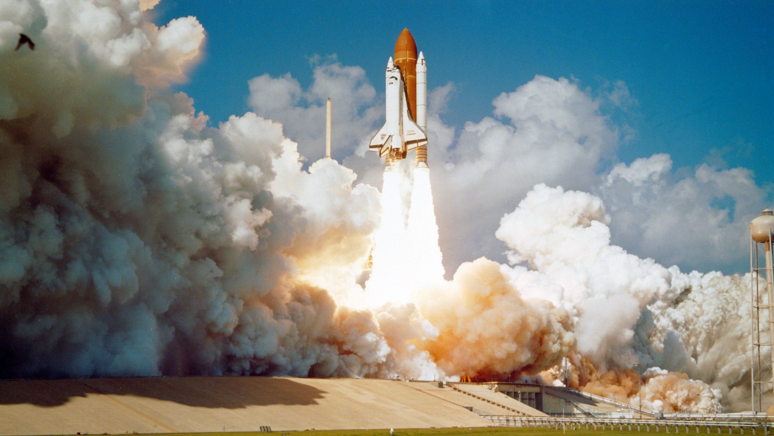 photo décollage fusée